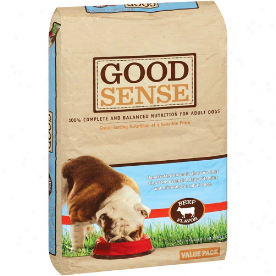 Good Sense Beef Flavor Dog Feed, 40 Lb