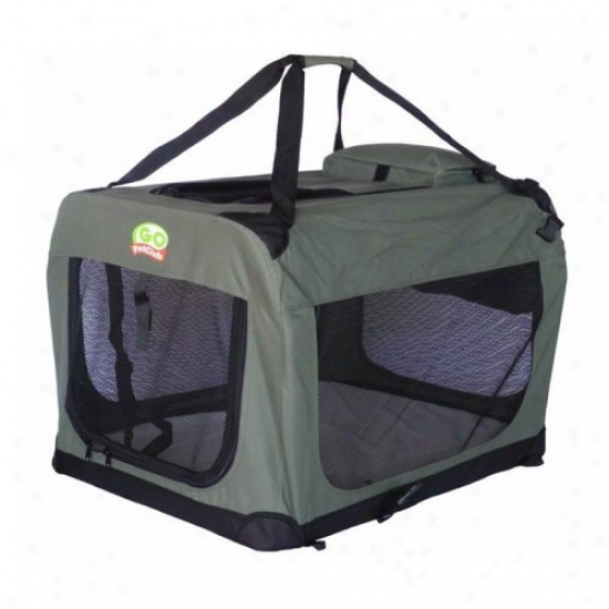 Gopetclub Dog Pet Soft Crate - Sage