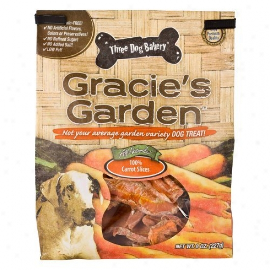 Gracie's Garden All-natural Carrot Slices