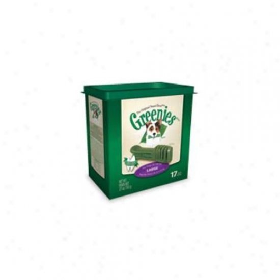 Greenies 018grn-21207 Greenies Tub Treat-paks 27 Ounce