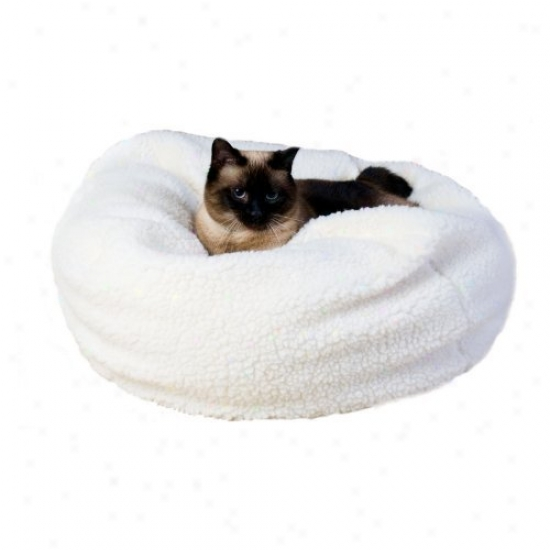 Habitats Sherpa Puff Ball Pet Bed