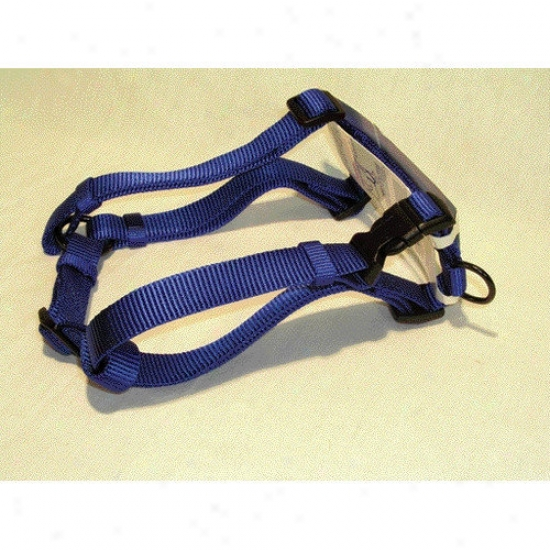 Hamilton Fondle Products Adjustable Comfort Dog Harness In Blue