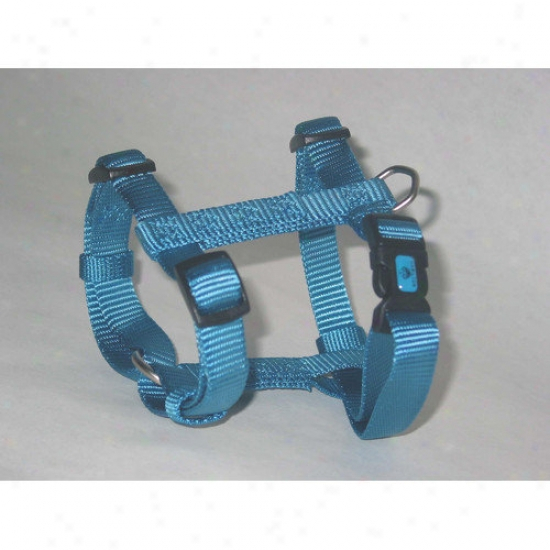 Hamilton Pet Products Adjustable Dog Harness In Ocean