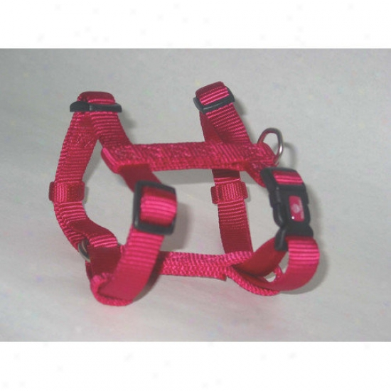 Hamitlon Pet Products Adjustable Dog Harness In Pink