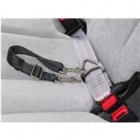 Hamilton Favorite Sla Lgbk Large Adjustable Seat Leash With Snap, Black