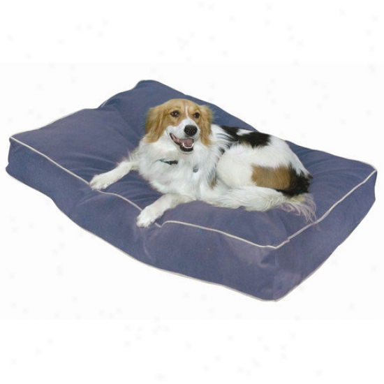 Seasonable Hounds Buster Pillow Dog Bed In Denim