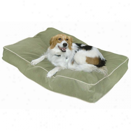 Happy Hounds Buster Pillow Dog Bed In Moss