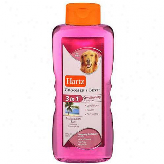 Hartz 18 Oz Living Groomers Bewt Shampoo & Conditioner  In favor of Dog  95068