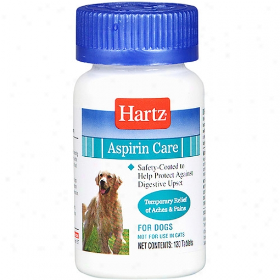 Hartz 97932 120 Count Advanced Care Enteric-coated Aspirin For Dogs