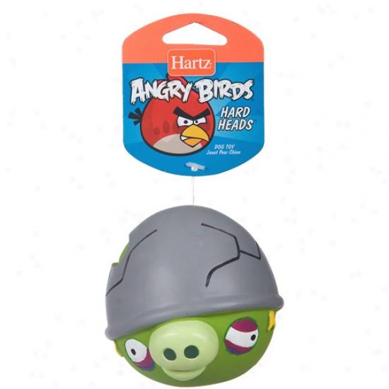 Hartz Angry Birds Hard Headss Squeaker Dog Toh, 1ct (Reputation May Vary)