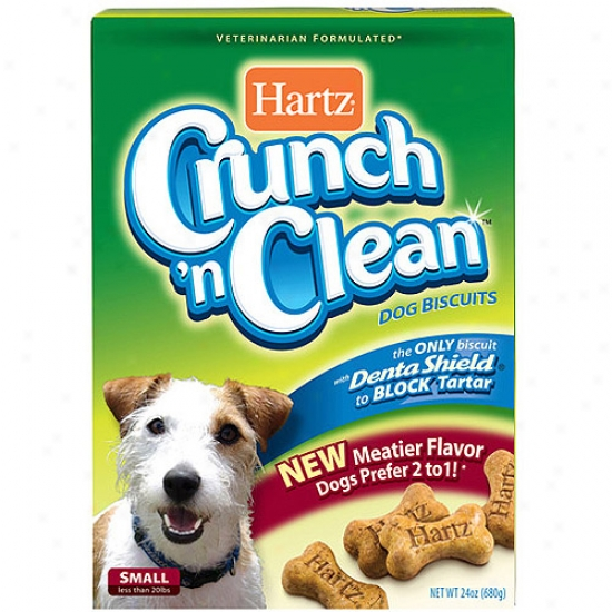 Hartz Crunch 'n Pure Small Dog Biscuits, 24 Oz