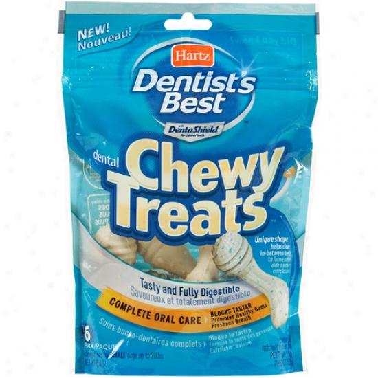 Hartz Dentist's Most good Dental Chewy Dog Treas, 6ct