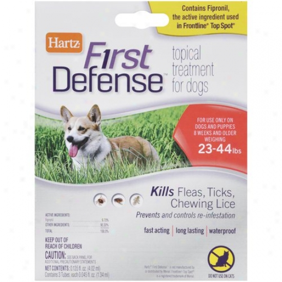 Hartz First Defense For Dogs 23-44 Lbs