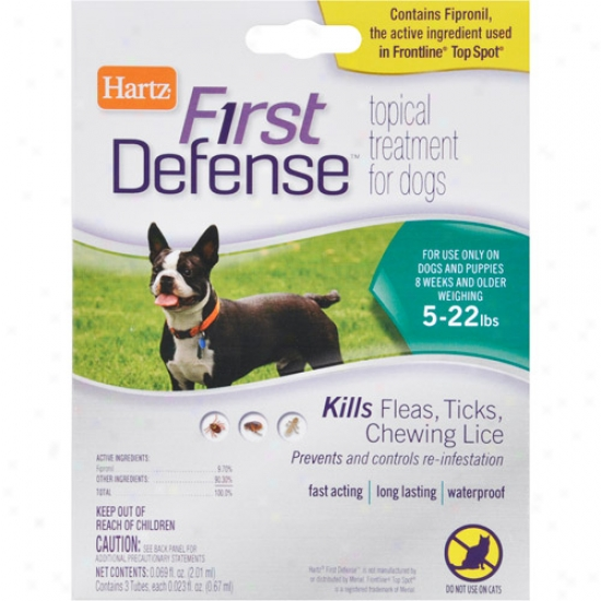 Hartz First Defense For Dogs Under 23 Lbs