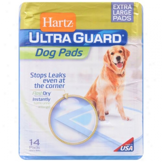 Hartz Ultra Guard Dog Pads, Extra-large, 14-count