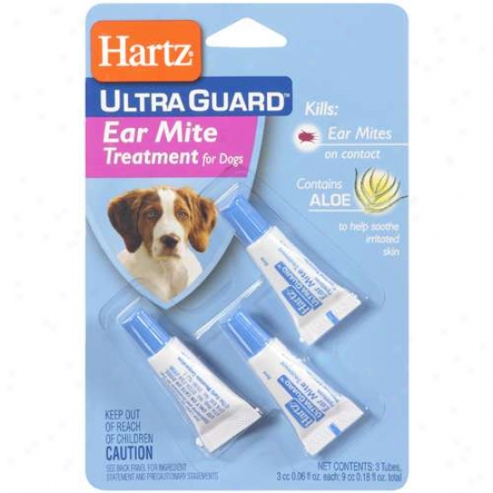 Hartz Ultraguard Ear Mite Treatment For Dogs
