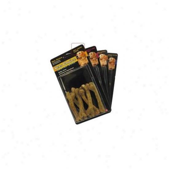 Health Exteneion Dhe00068 Medium Health Extension Dental Bones Cheese 6-pack