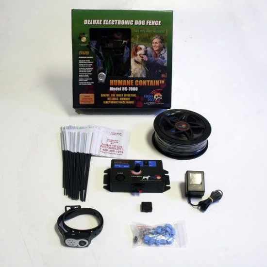High Tech Favorite Humane Contain Advanced Electronic Fence Super System