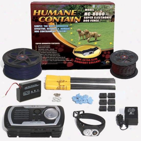 High Tech Pet Humane Contain Electronic Fence Ultra Value Kit