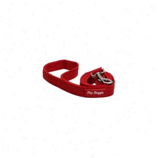 Hip Doggie Hd-6pmhrd-leash Red Mesh Matchunng Leash