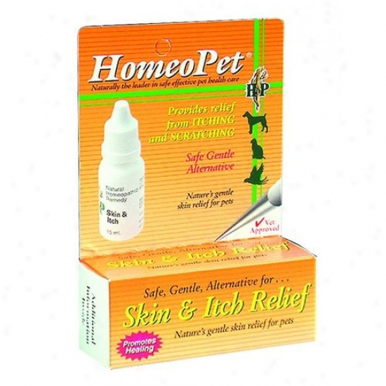 Homeopet 14712 Dog Homeopet Skin And Itch