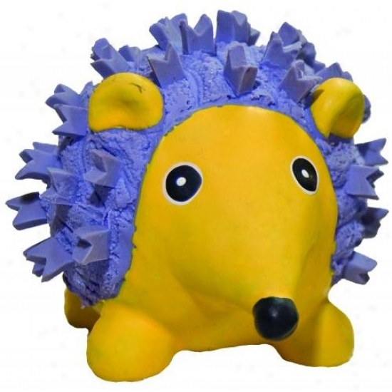 Hugglehounds 10193 Ruff-tex Violet The Hedgehog