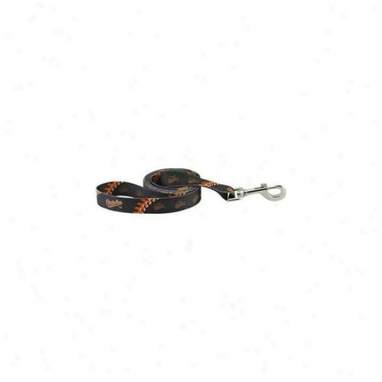 Hunter Mfg Dn-310631 Baltimore Orioles Dog Leash