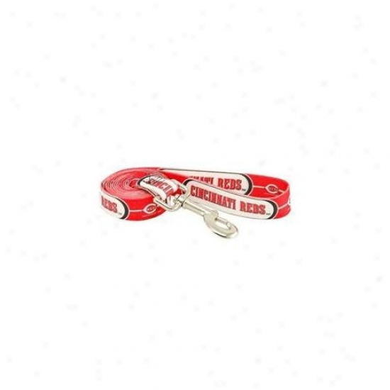 Hunter Mfg Dn-310661 Cincinnati Reds Dog Leash