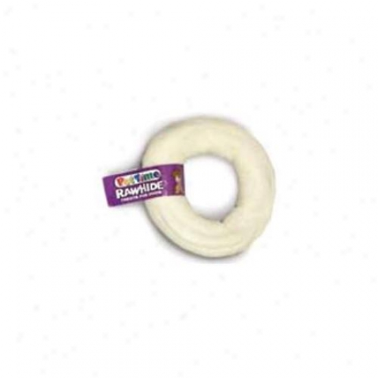 I M S Trading Corp Rawhide Donut In Ntrl 3-4 Inch - 00095-9