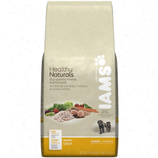 Iams Well Naturals Puppy Dog Food, 5 Lb