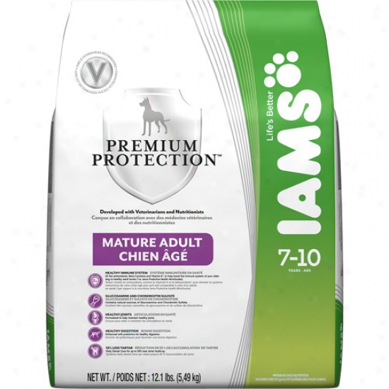 Iams Premium Protection Marure Adult Dog Food, 12.1 Lb