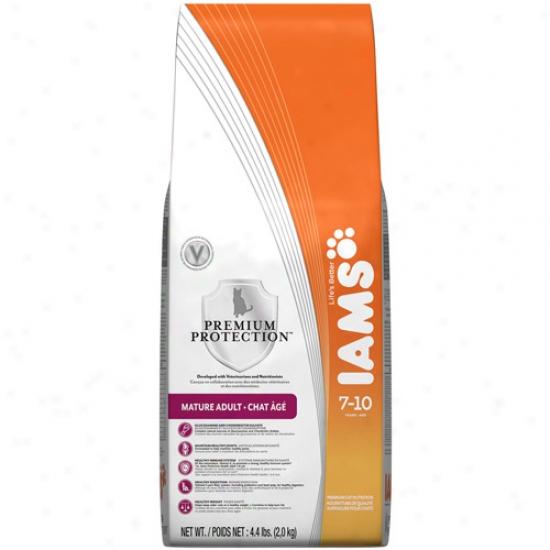 Iams Premium Protection Mature Ca5 Food, 4.4 Lb