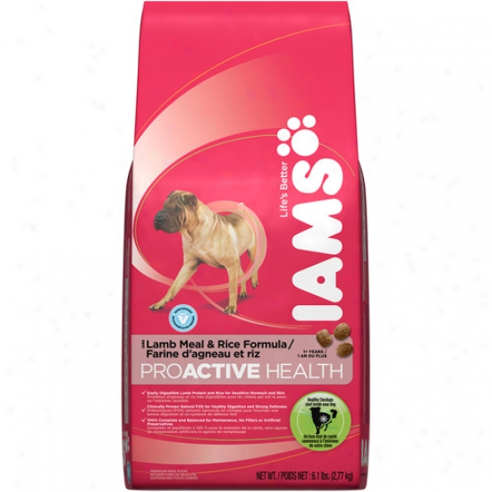 Iam Prowctive Health Dry Dog Food, Lamb Meal & Rice 6.1lb Bag