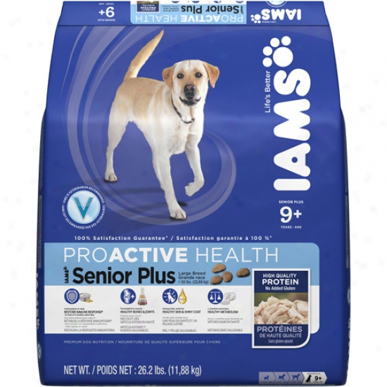 aIma Proactive Health Senior Plus Large Breed Dog Food, 26.2 Lb