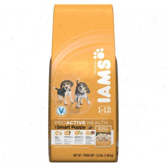 Iams Proactive Health Smart Puppy Original Pemium Puppy Food, 3.3 Lbs