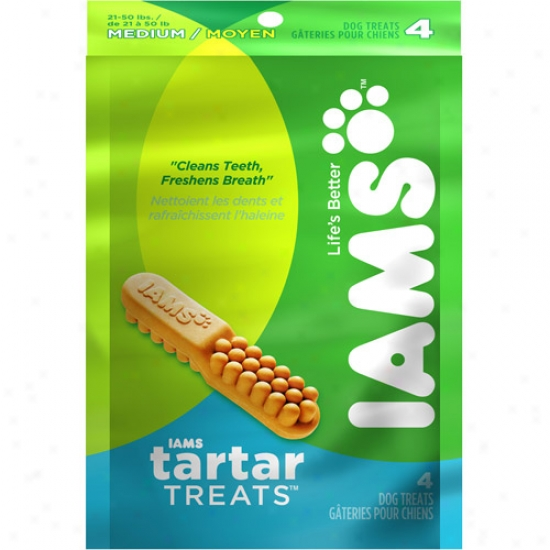 Iams Tartar Treats For Medium Dogs, Multiple Sizes Available