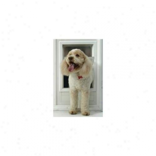 Ideal Pet Products Mfm Medium Multi-flex Dog Door - Pure Finish