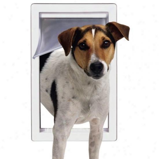 Ideal Storm Door Dog Door