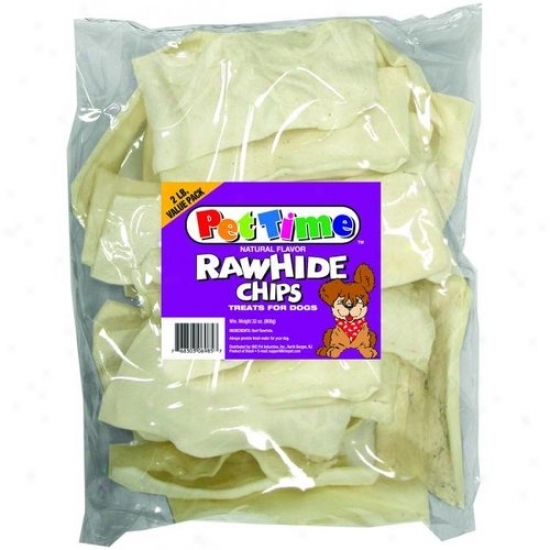 Ims Trading 06985 Natural Rawhide Chips