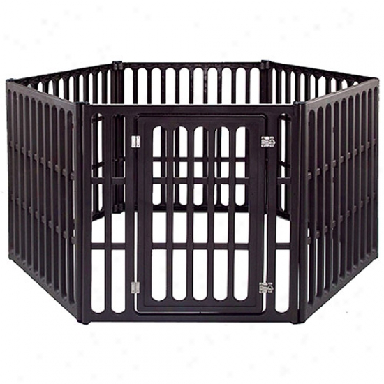Iris Indoor / Outdoor Heavy Duty Pet Pen, Large