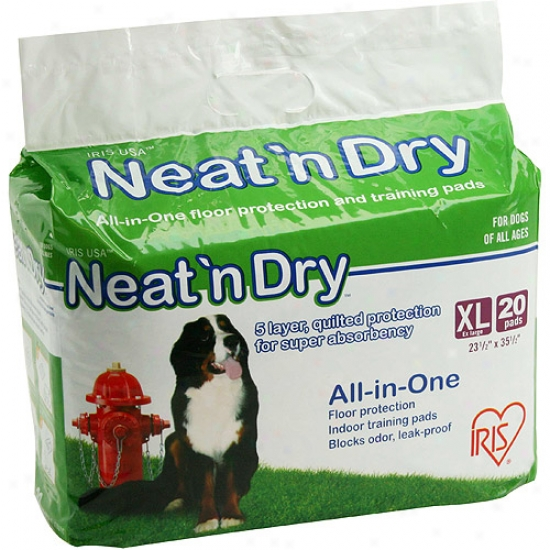 Iris Neat 'n Dry All-in-one Floor Protection/training Pads