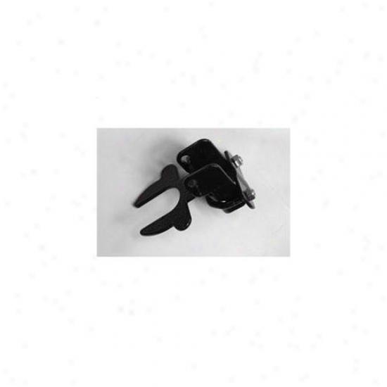 Jewett Cameron Cl 71116 Kennel Gate Latch Dust Coated Black