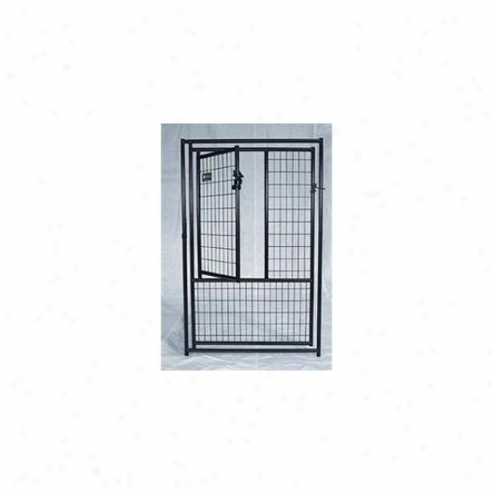 Jewett Cameron Lucky Dog Pet Gate Within Powder Coatedd Gate