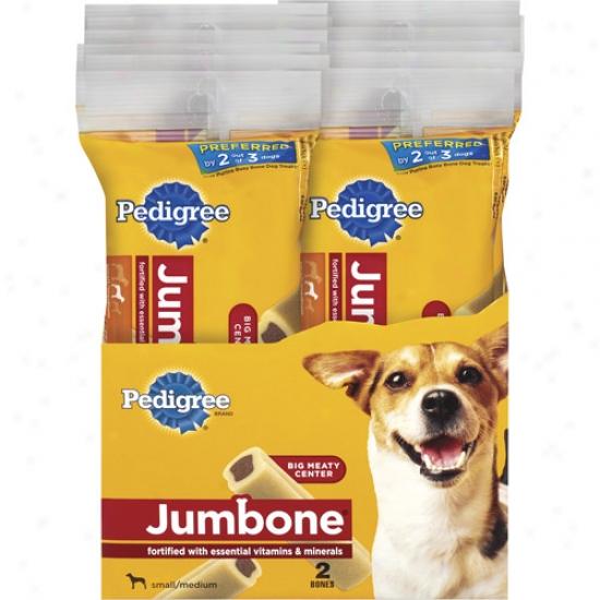 Jumbone Bones For Small & Medium Dogs, 2ct