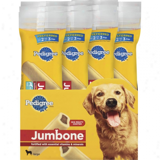 Jumbone Snacks For Large Dogs, 7.4 Oz