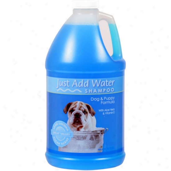 Just Add Water Clean Scent Dog & Puppy Shampoo, 64 Oz