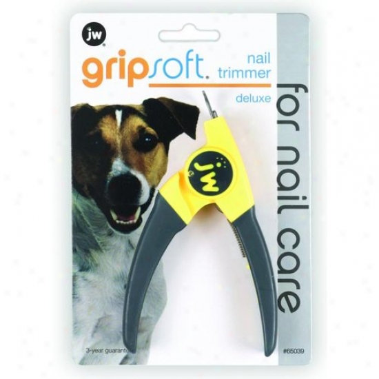 Jw 65039 Grip Soft Dlx Dog Nail Trimmer