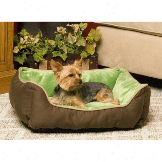 K&h Manufacturing Self-warming Heated Lounge Dog Bed