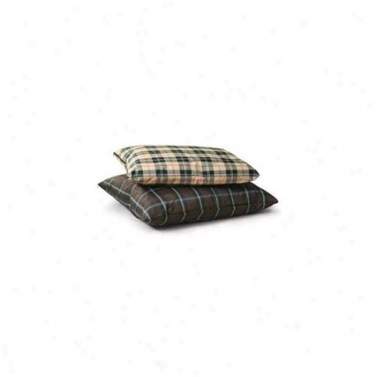 K&h Pet Products Kh7042 Indoor - Exterior Single-seam Lwrge Tan Plaid 35 Inch X 44 Inch X 4 Inch