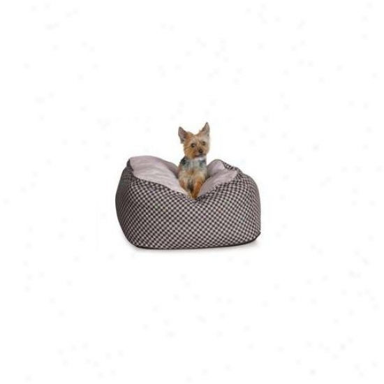 K&h Pet Products Kh7505 Deluxe Cuddle Cube Small Black 22 Inch X 22 Inch X 12 Inch